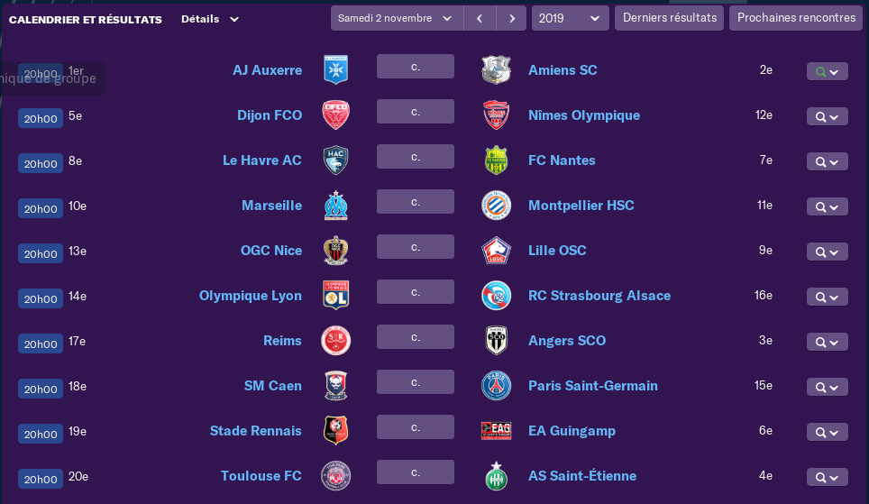 Calendrier Ligue 1 saison 02 12100