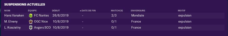 3ème journée de Ligue 1 avant Vendredi 12h 1409