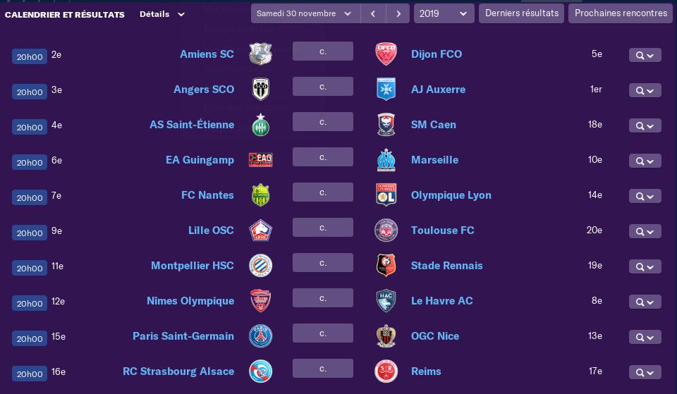 Calendrier Ligue 1 saison 02 1510
