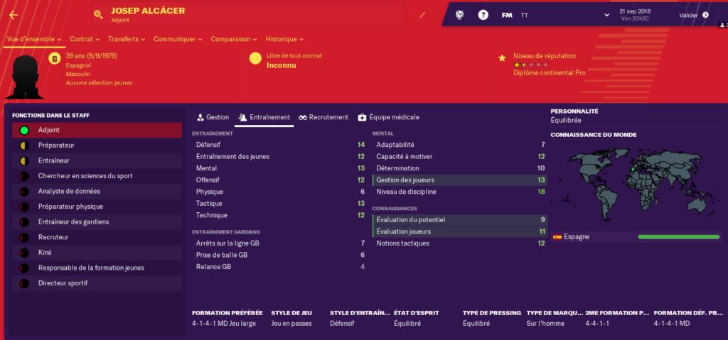 Nantes adjoint et entraineur equipe reserve 160