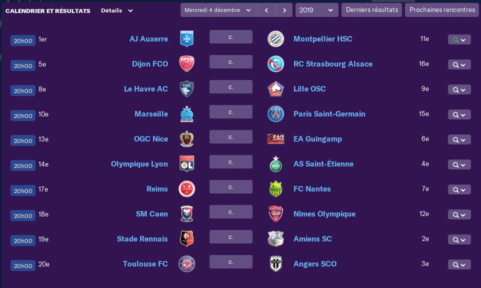 Calendrier Ligue 1 saison 02 1610