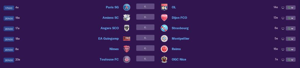 Calendrier Ligue 1 saison 01 185