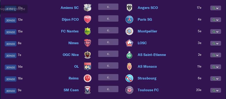 Calendrier Ligue 1 saison 01 190