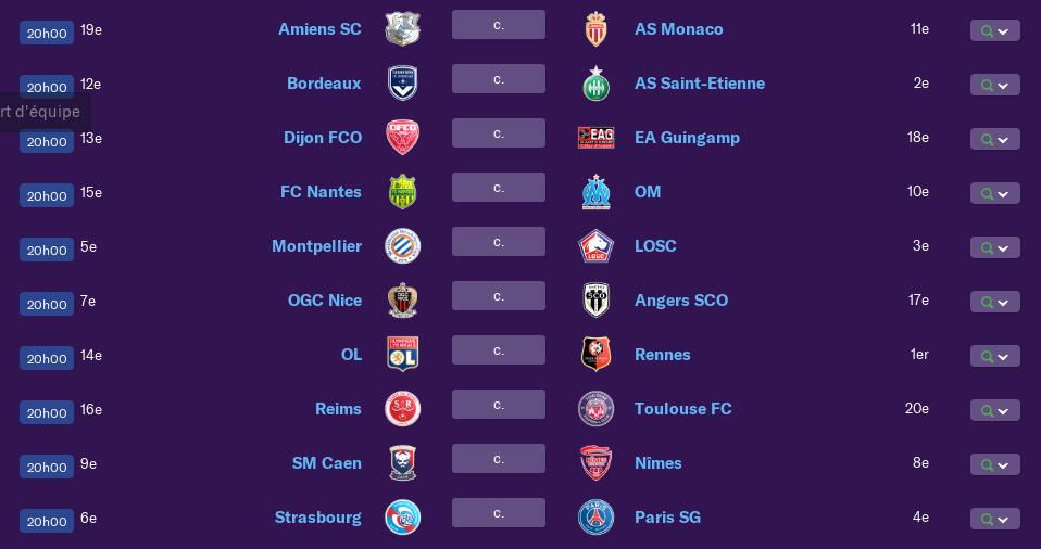 Calendrier Ligue 1 saison 01 2155