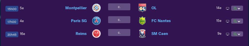 Calendrier Ligue 1 saison 01 2157
