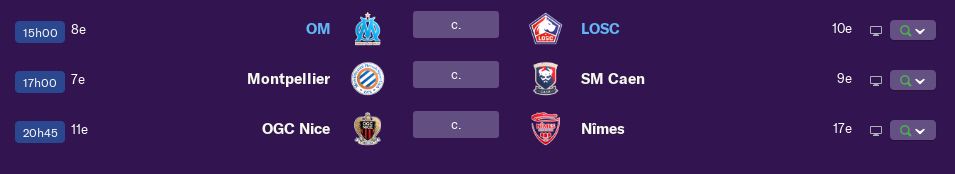 Calendrier Ligue 1 saison 01 2198