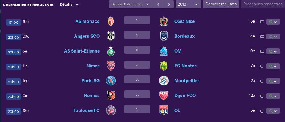 composition 17 ème journée de Ligue 1 Jeudi 12h 3175