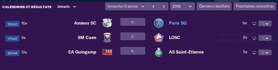 composition 20 ème journée de Ligue 1 Jeudi 12h  4119