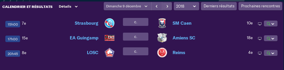 composition 17 ème journée de Ligue 1 Jeudi 12h 487
