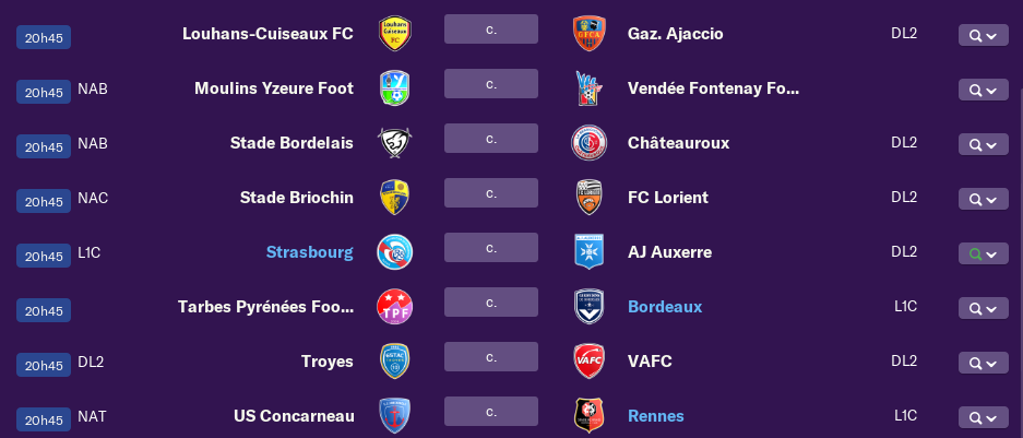 Tableau Coupe de France 617