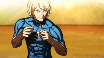Kengan Ashura - Top mais fortes do  torneio de Aniquilação Kengan Amai10