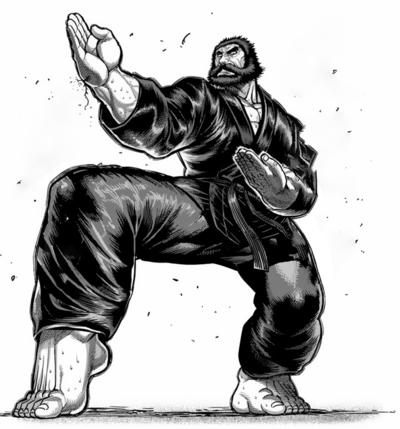 Kengan Ashura - Top mais fortes do  torneio de Aniquilação Kengan Gensai10