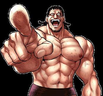 Kengan Ashura - Top mais fortes do  torneio de Aniquilação Kengan Gordo10