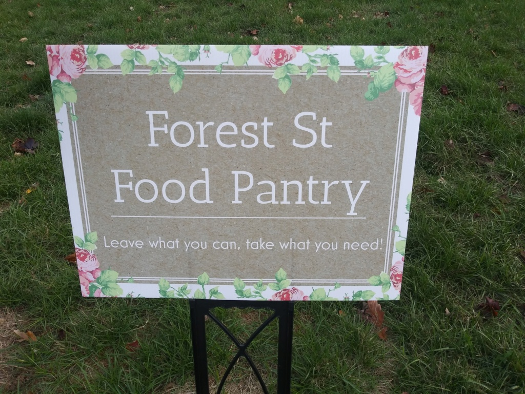 FOREST STREET FOOD PANTRY 20201112