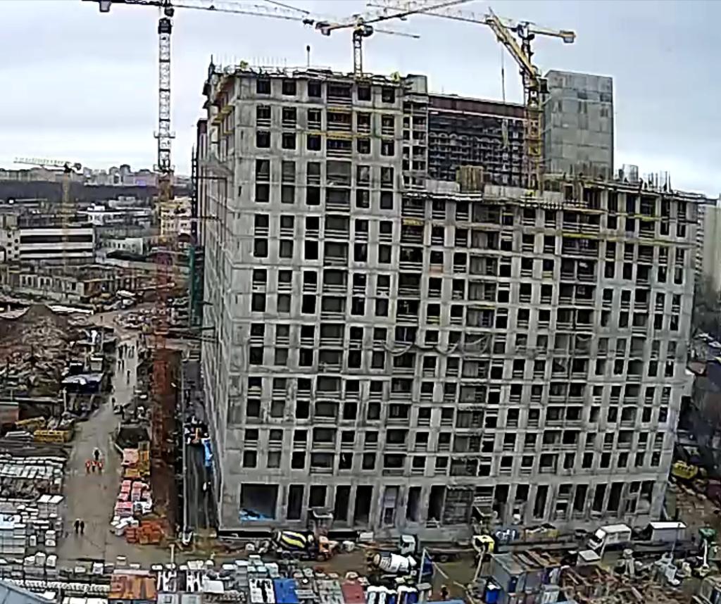 Веб-камеры на площадке строительства ЖК «Серебряный фонтан»  - Страница 16 111