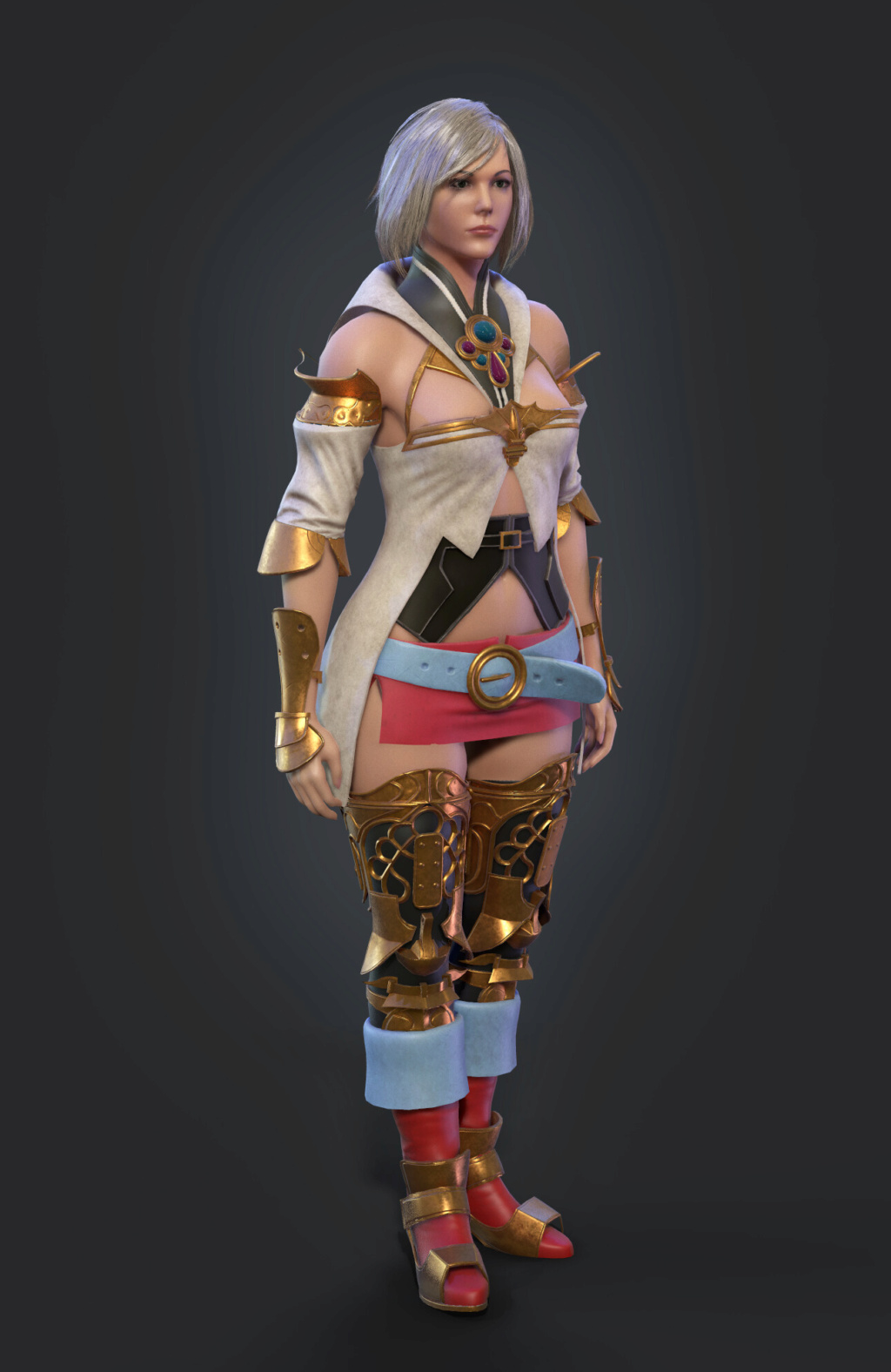 2 - Top 3 female characters from Video Games that should be made Pavel-10