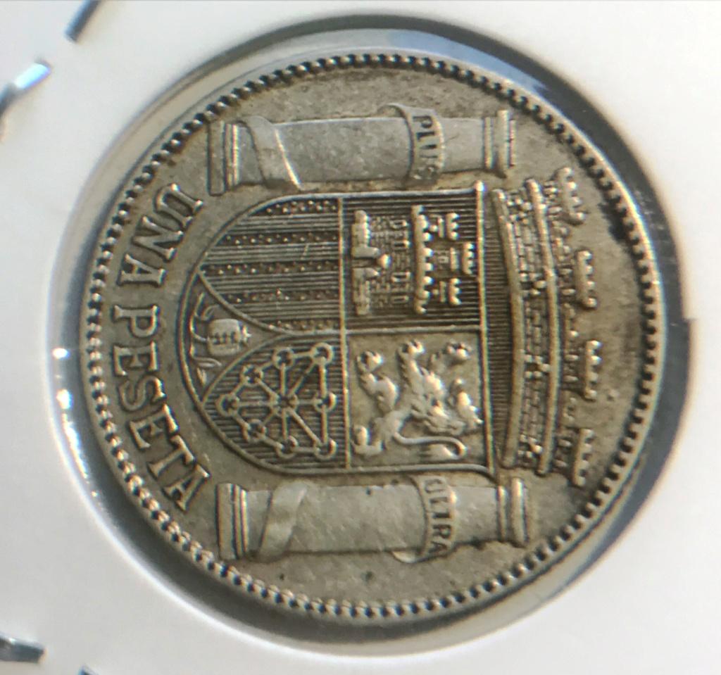 Limpieza moneda plata 1933 1peset13