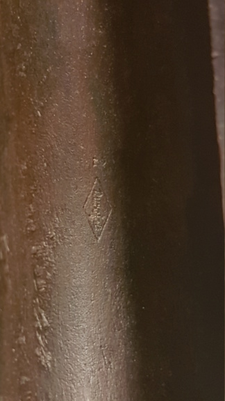 Petite trouvaille dans un lot d'accessoires d'armes ww2 ---G43  20200228