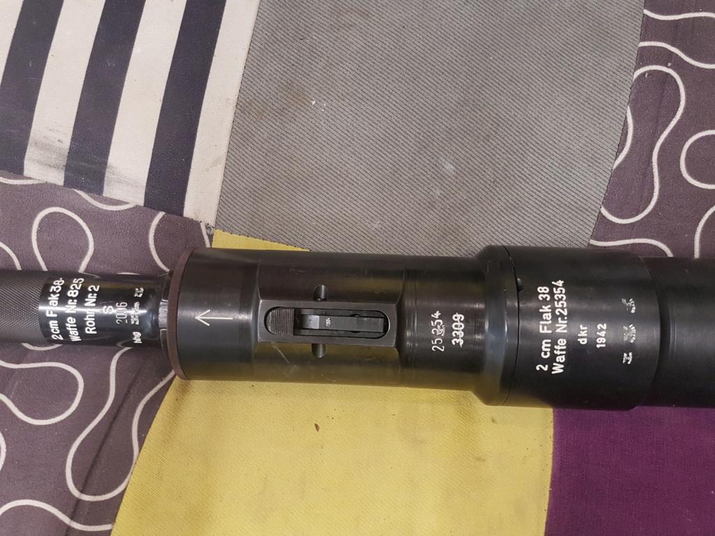 Identification Flak 20 mm fabrication dkr 1942 20200915