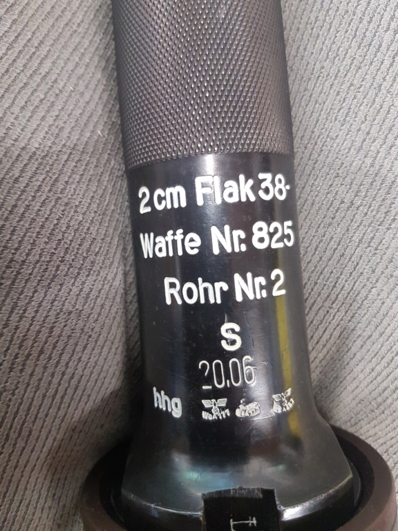 Identification Flak 20 mm fabrication dkr 1942 20200933