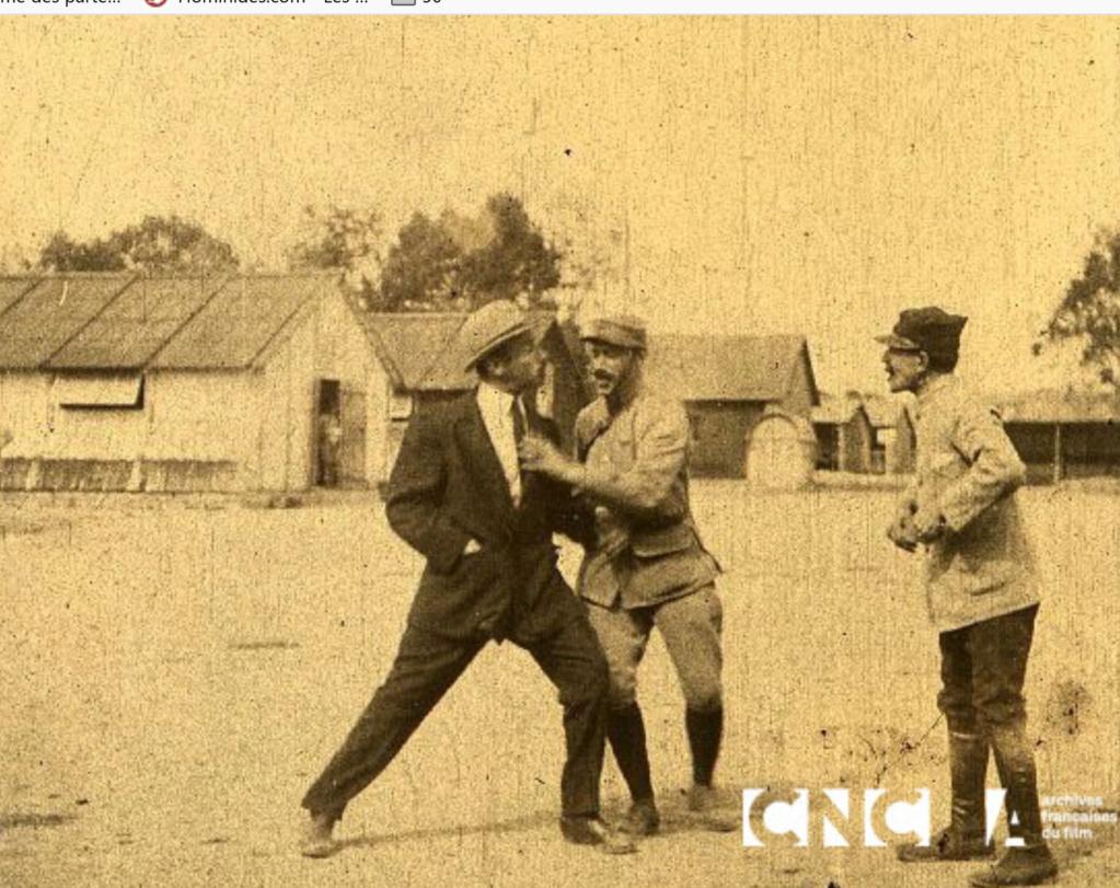 Uniformes à identifier dans un film de 1910 (environ) Film210