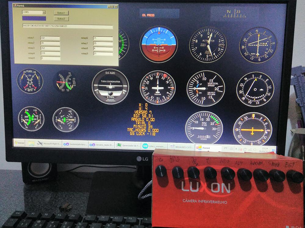 Cessna c172 máscara de Monitor - Panel Mask Img_2016