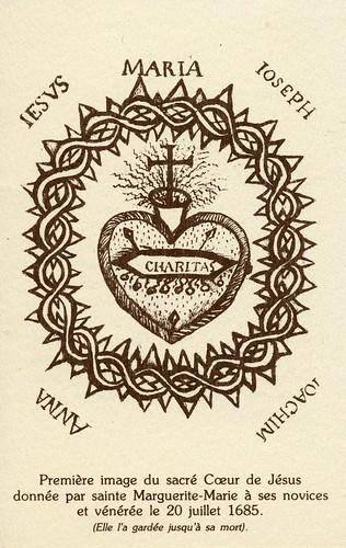 Vie de Sainte Marguerite-Marie, apôtre du Sacré-Coeur, écrite par elle-même. 44190912