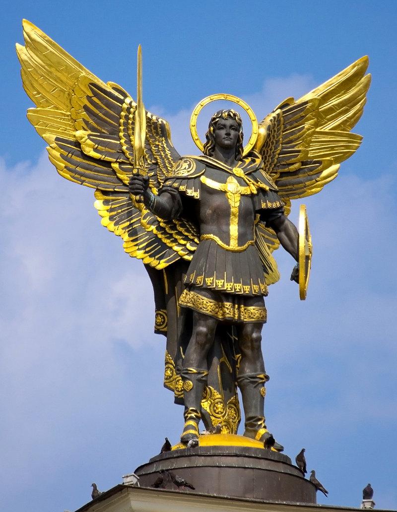 PRIERE A SAINT MICHEL ARCHANGE Statue11