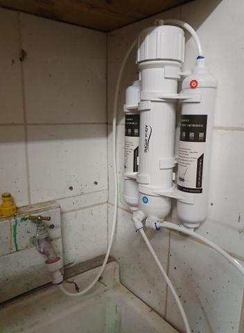 Un osmoseur dans un appartement comment faire ? 90635610