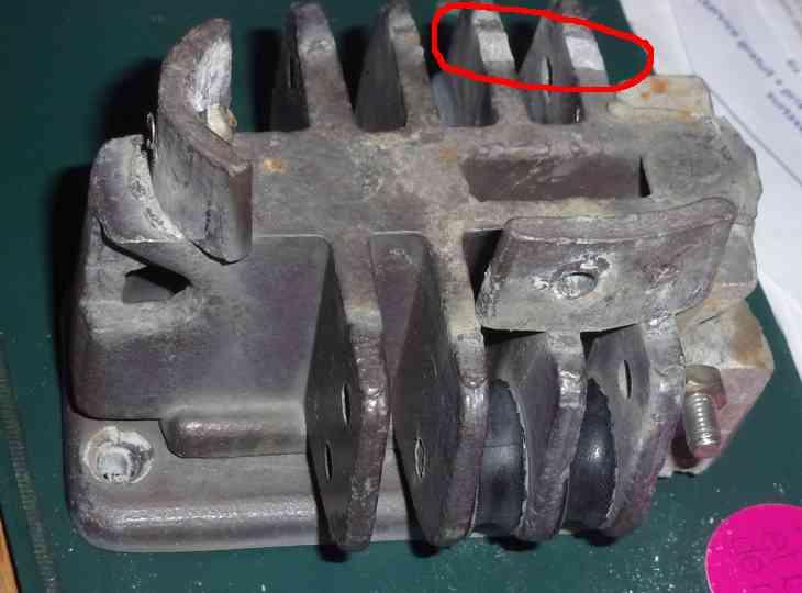 Remplacement de l'embase et du pied de mat 114_4610