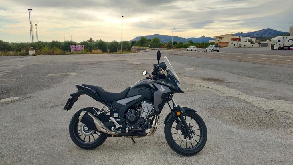 Unas fotos de mi X Moto110