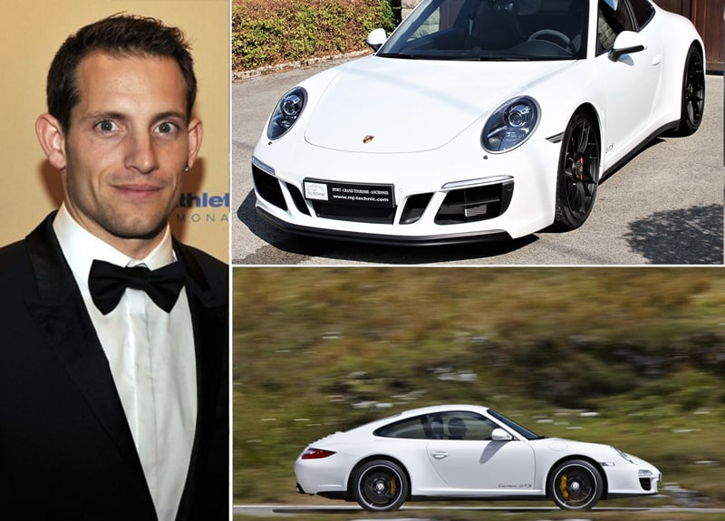 Les célébrités et leur Porsche Renaud11