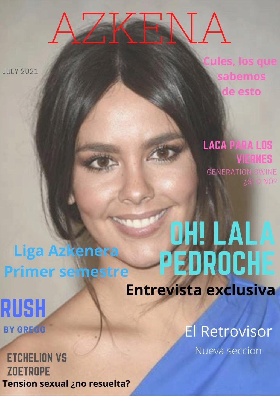 Oh lala, la  Pedroche,  el tópic  del  #teamatabal 110