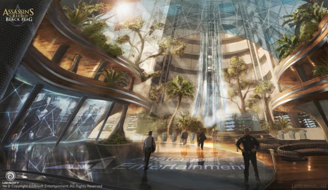 CAPÍTULO 1 - Bem Vindo à Abstergo Entertainment  Lobby_10