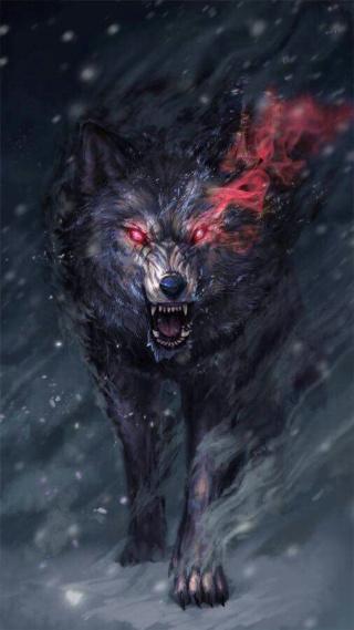 Heróis de Nevriande Wolf10