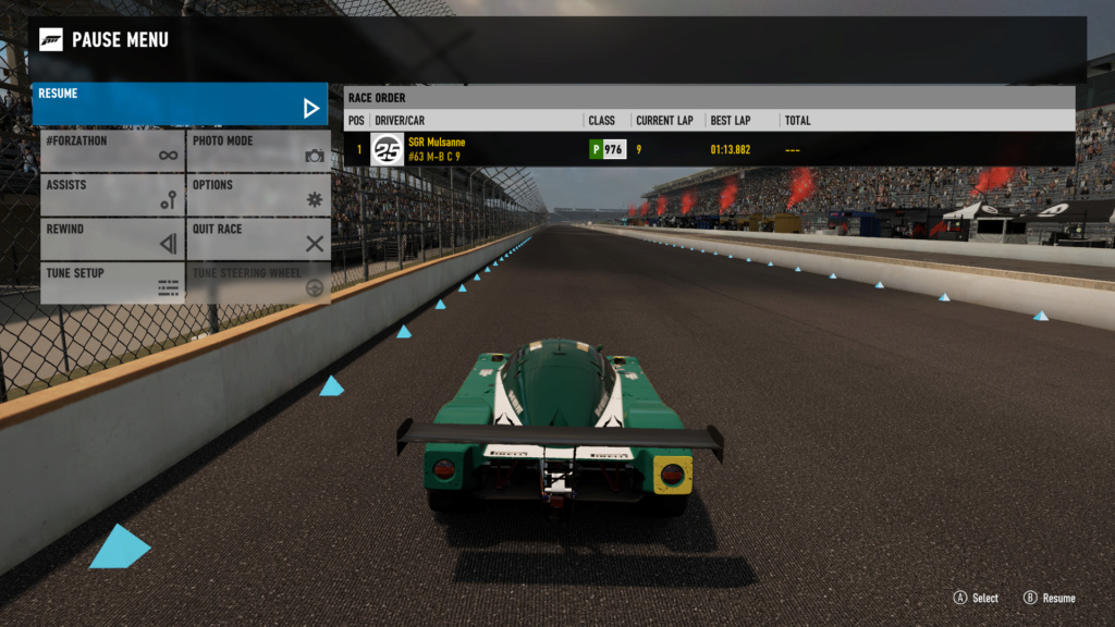 TORA 8 Hours of Indianapolis - GTP Class 107% Verification 1ed04312