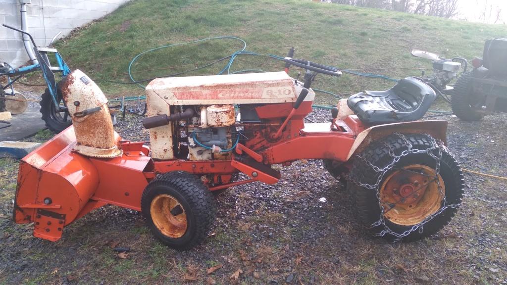 1973 Gilson S-10 Workhorse Restoration Build 20201118