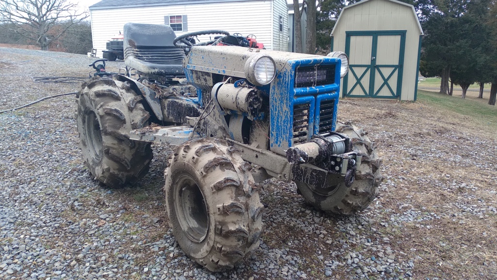 "Hillbilly Offroading's ""Mud Stompin Wards"" Montgomery Ward Mud Mower [2020 Build-Off Entry] [Finalist] [Winner] - Page 5 20201242"