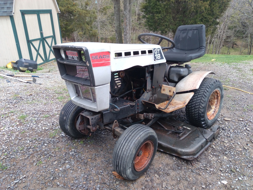 New 1979 Sears GT/18 [Silver Model] Work Horse Utility Build... Maybe 20210419