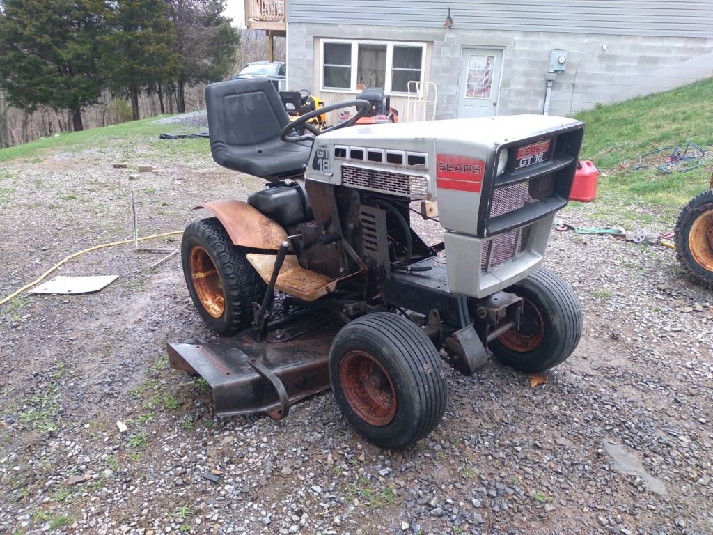 New 1979 Sears GT/18 [Silver Model] Work Horse Utility Build... Maybe 20210421