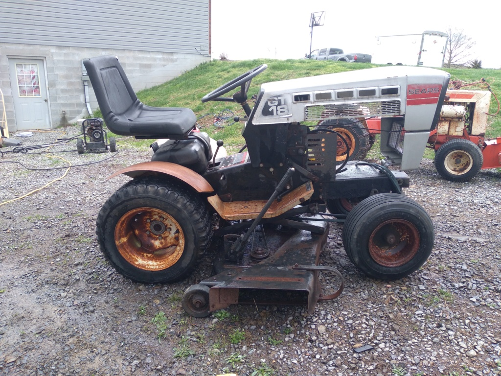 New 1979 Sears GT/18 [Silver Model] Work Horse Utility Build... Maybe 20210423