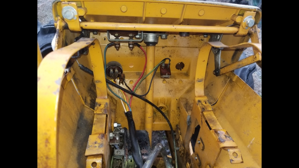 Rewiring 15hp Cast Iron Briggs With Starter Generator