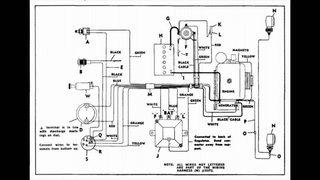 Rewiring 15hp Cast Iron Briggs With Starter Generator  Screen14