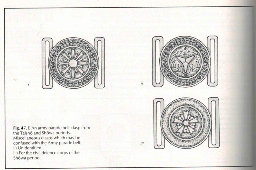 Boucle de ceinture des  sapeurs-pompiers Sword_12