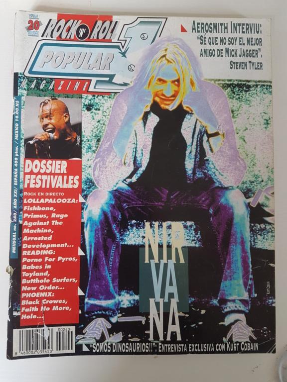 Vendo Lote revistas POPULAR 1: 234, 240, 241 y 242 (1993) 20200511