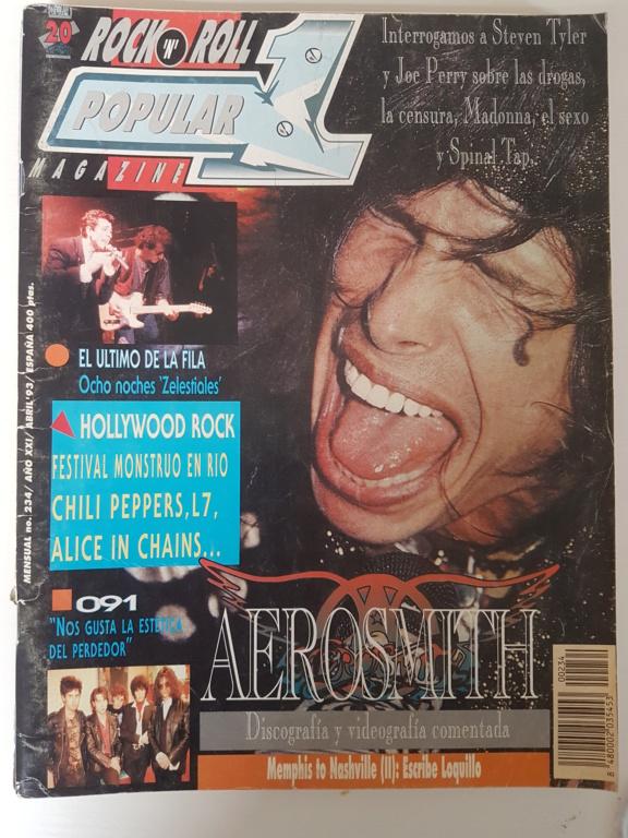 Vendo Lote revistas POPULAR 1: 234, 240, 241 y 242 (1993) 20200512