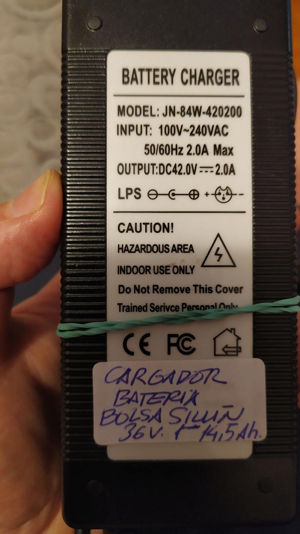 Vendo batería 36v 14,5Ah bolsa sillín 522 W/h Psx_2017