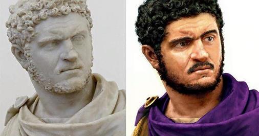 Le vrai visage des empereurs romains (reconstitution) 10644810