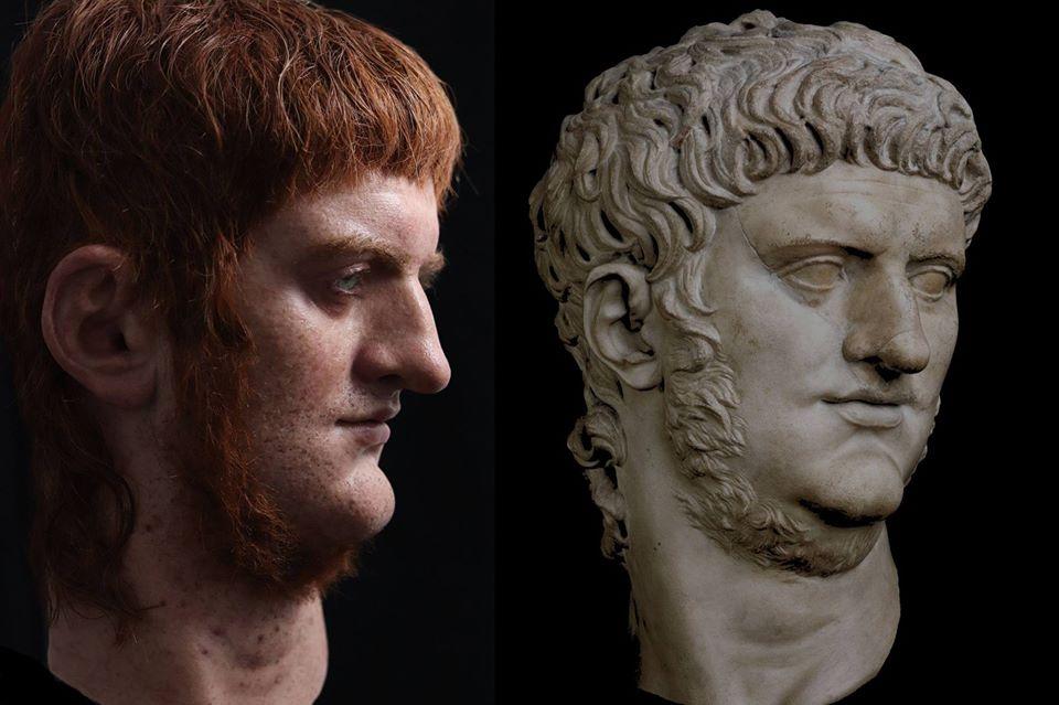 Le vrai visage des empereurs romains (reconstitution) 77103110