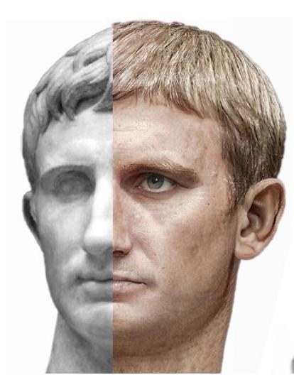 Le vrai visage des empereurs romains (reconstitution) August10